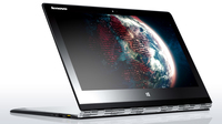 "Lenovo IdeaPad Yoga 3 Pro 1.2GHz M-5Y71 13.3"" 3200 x 1800pixels Touchscreen Silver Notebook"