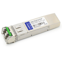 Add-On Computer Peripherals (ACP) 50DW-SFP10G-53.33-AO Fiber optic 1553.33nm 10000Mbit/s SFP+ network transceiver module