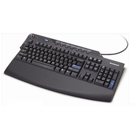 Lenovo 73P2631 USB AZERTY French Black keyboard