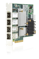 Hewlett Packard Enterprise 3PAR StoreServ 20000 4-port 16Gb Fiber Channel Host Bus Adapter networking card