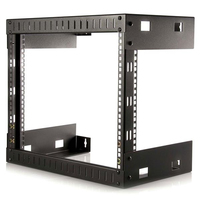 StarTech.com RK812WALLO Wall mounted rack 8U 80kg Black rack