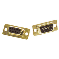 C2G DB9 Female D-Sub Solder Connector D-Sub / DB9 Gold wire connector