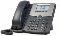 Cisco SPA 502G Wired handset LCD IP phone