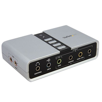 StarTech.com ICUSBAUDIO7D 7.1channels USB audio card