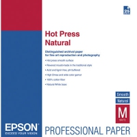 Epson Pap Hot Press Natural 25f. A2 (0.420x0.594m) 330g