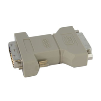 StarTech.com DVI-I / DVI-D Adapter DVI-I DVI-D M Grey cable interface/gender adapter