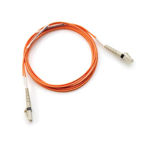 Hewlett Packard Enterprise 15m LC-LC 15m LC LC Orange fiber optic cable