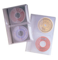 Fellowes 95304 Binder case 2discs Translucent
