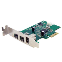 StarTech.com PEX1394B3LP Internal IEEE 1394/Firewire interface cards/adapter