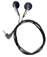 Olympus 146112 Monaural Wired Black mobile headset