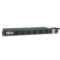 Tripp Lite RS1215-20 1U Black power distribution unit (PDU)