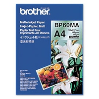 Brother BP60MA Inkjet Paper A4 (210×297 mm) Mat Blanc papier jet d'encre