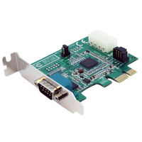 StarTech.com Low Profile Native PCI Express Serial Card w/ 16950 Internal Serial interface cards/adapter