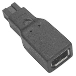 Siig FireWire 800 Adapter 9-pin 6-pin Black cable interface/gender adapter