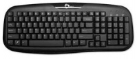 Siig USB Desktop Keyboard USB QWERTY Black keyboard