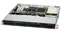 Supermicro AS-1012G-MTF AMD SR5650 Socket G34 1U Black,Grey server barebone