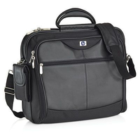 "HP Executive Leather Case 12.1"" - 17"" 17"" Briefcase Black"