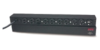 APC Basic Rack 1.8kVA Black Power Distribution Unit (PDU)