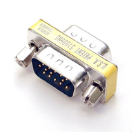 StarTech.com Slimline Gender Changer HDDB15M to HDDB15M cable interface/gender adapter