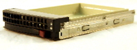 "Supermicro MCP-220-00001-01 3.5"" Chrome storage enclosure"