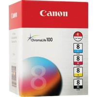 Canon CLI-8 black, cyan, magenta, yellow ink cartridge