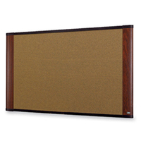 3M C7248MY Corkwood Brown bulletin board