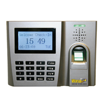 Wasp WaspTime Biometric Solution Silver security access control system