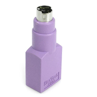 StarTech.com GC46FMKEY PS/2 USB A Violet cable interface/gender adapter