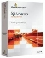 Microsoft SQL Server 2005 Standard Edition, Win32 English Lic/SA Pack OLP NL AE