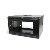StarTech.com RK619WALL Wall mounted 6U Black rack