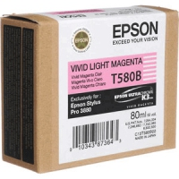 Epson T580B - Vivid Light Magenta Light magenta ink cartridge