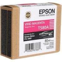 Epson T580A - Vivid Magenta Magenta ink cartridge
