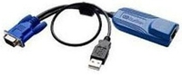 Raritan D2CIM-VUSB-64PAC Black Keyboard Video Mouse (KVM) Cable