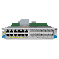 Hewlett Packard Enterprise 12-port Gig-T PoE+ / 12-port SFP v2 network switch module