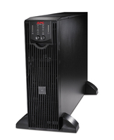 APC 230V Smart UPS RT 6000 VA + PowerChute 6000VA Black uninterruptible power supply (UPS)