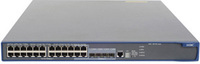 Hewlett Packard Enterprise A 5210-24G-PoE Managed Power over Ethernet (PoE) 1U