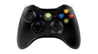 Microsoft Xbox 360 Wireless Controller for Windows Manette de jeu PC,Xbox Noir