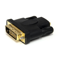 StarTech.com HDMIDVIFM HDMI DVI-D Black cable interface/gender adapter