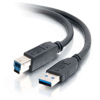 C2G 2m USB 3.0 A Male to B Male Cable 2m USB B Black USB cable