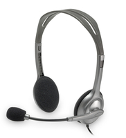 Logitech H110 Binaural Head-band headset