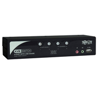 Tripp Lite B006-VUA4-K-R Black KVM switch