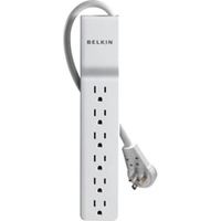 Belkin BE106001-06R 6AC outlet(s) 1.8m White surge protector