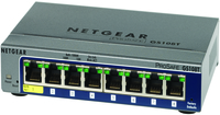 Netgear GS108T Managed network switch Power over Ethernet (PoE)