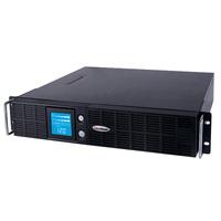 CyberPower Smart App Intelligent LCD 2190VA 8AC outlet(s) Rackmount/Tower Black uninterruptible power supply (UPS)