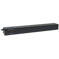 CyberPower PDU15B12R 12AC outlet(s) 1U Black power distribution unit (PDU)