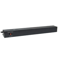 CyberPower PDU15B8R 8AC outlet(s) 1U Black power distribution unit (PDU)