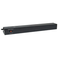 CyberPower PDU20B12R 12AC outlet(s) 1U Black power distribution unit (PDU)