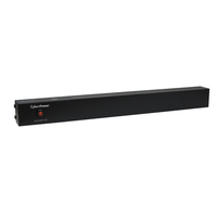CyberPower PDU20BT10R 10AC outlet(s) 1U Black power distribution unit (PDU)
