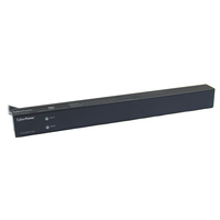 CyberPower PDU30BHVT8R 8AC outlet(s) 1U Black power distribution unit (PDU)
