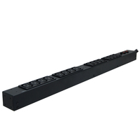 CyberPower PDU30BVHVT16F 16AC outlet(s) 0U Black power distribution unit (PDU)